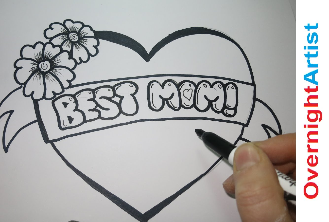 drawing ideas for mom's birthday ; maxresdefault