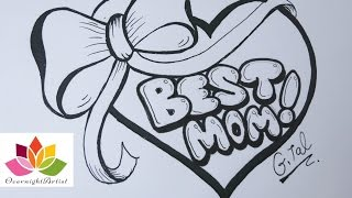 drawings for moms birthday ; mqdefault