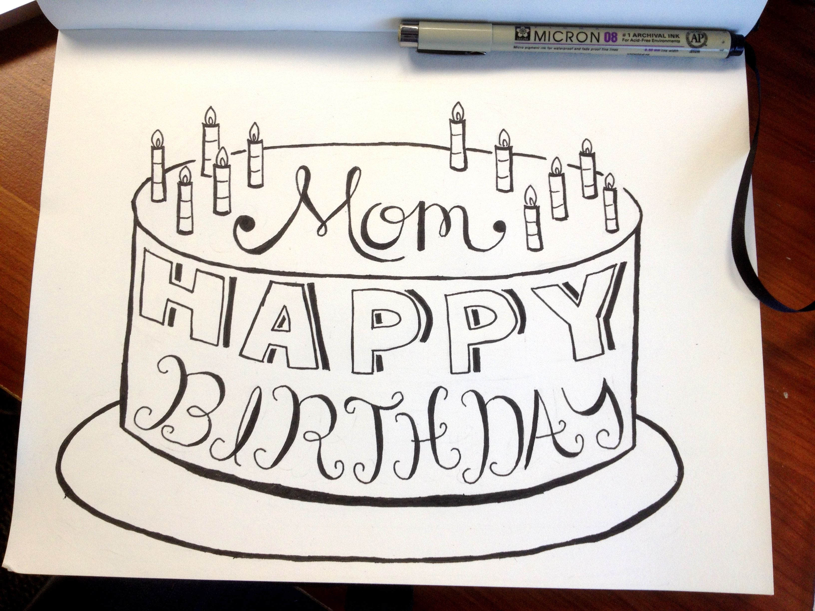 drawings for moms birthday ; photo-mar-20-2-17-26-pm