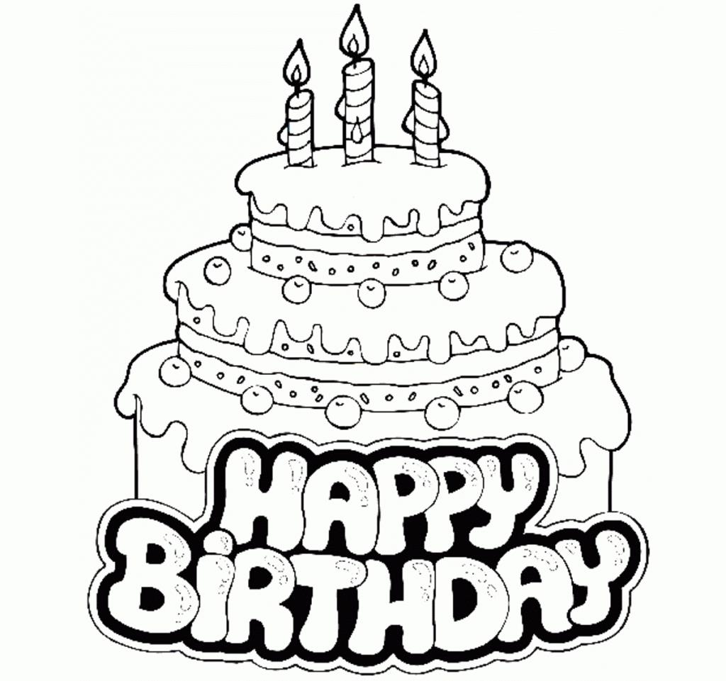 easy birthday cake drawing ; cute-birthday-cake-coloring-page-pages-for-kids-preschool-happy