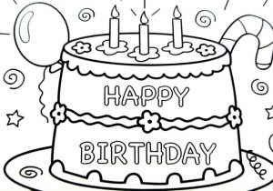 easy birthday cake drawing ; happy-birthday-cake-drawing-pages-coloring-book-fun-art-colours-300x210