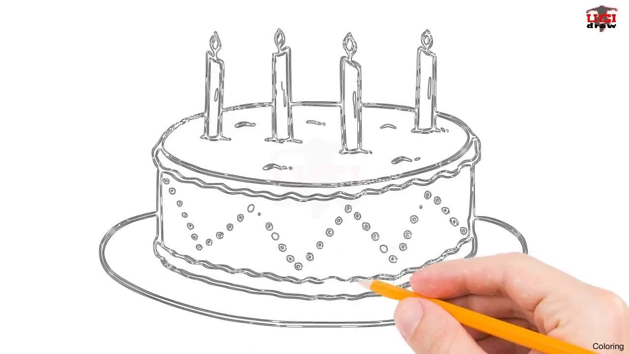 easy birthday cake drawing ; maxresdefault-how-to-draw-a-cake-coloring-step-by-easy-for-beginners-kids-simple-cakes-drawing-tutorial-19f