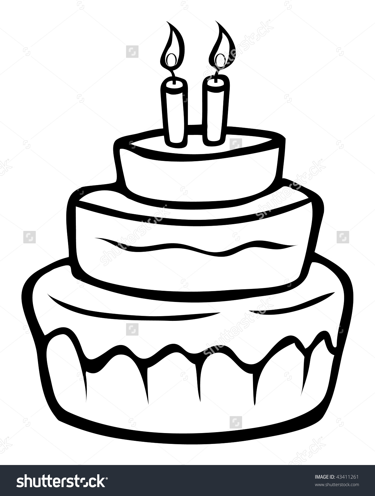 easy birthday cake drawing ; sensational-ideas-birthday-cake-outline-cartoon-image-inspiration-of-and-printable-clip-art-images-drawing