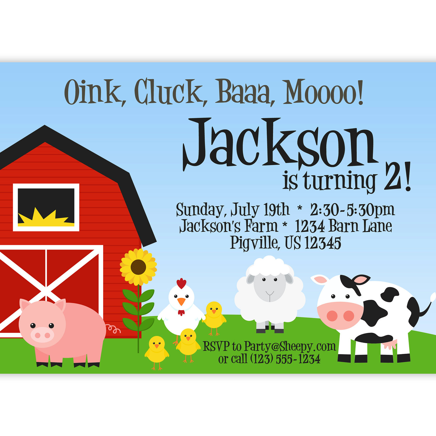 farm themed birthday invitation wording ; Barnyard-Themed-Birthday-Invitations-combined-with-your-creativity-will-make-this-looks-awesome-1