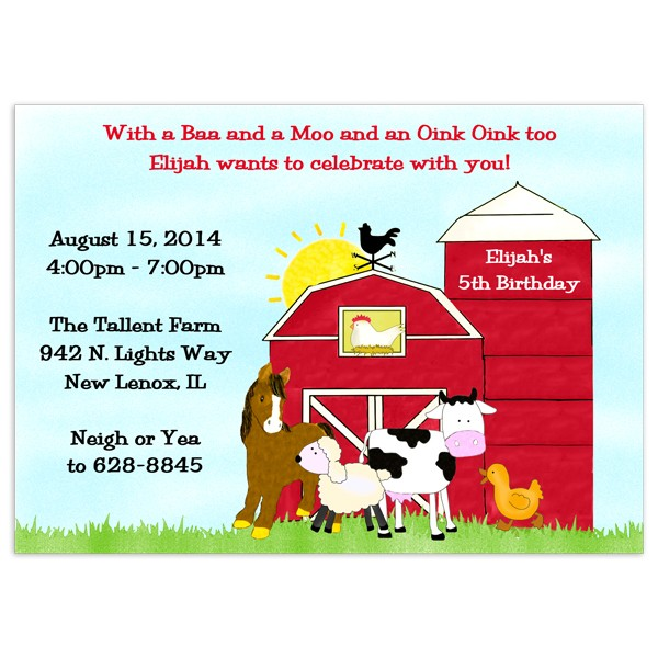 farm themed birthday invitation wording ; Charming-Farm-Birthday-Invitations-Which-You-Need-To-Make-Birthday-Invitation-Cards