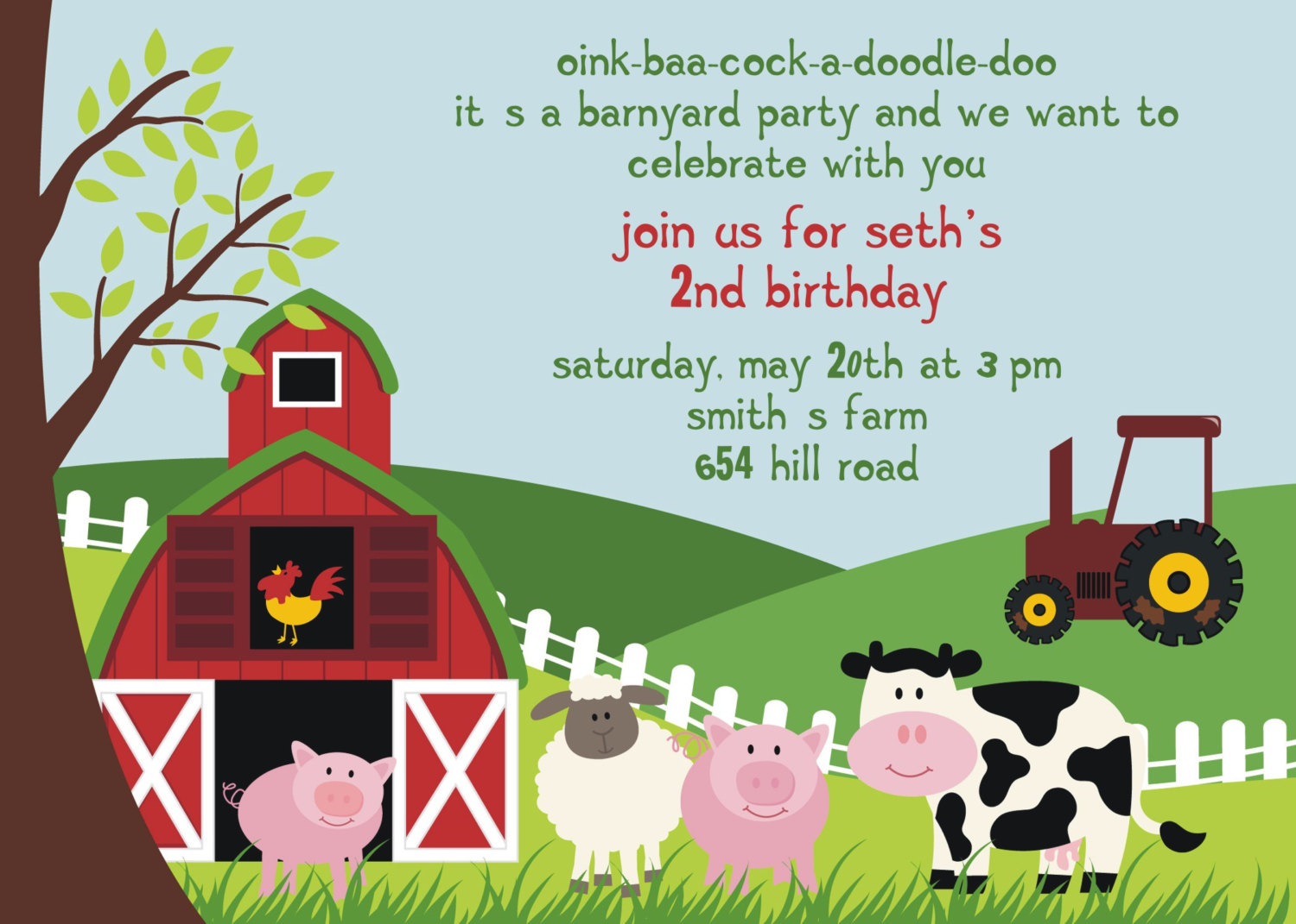 farm themed birthday invitation wording ; Comely-Farm-Themed-Birthday-Invitations-To-Create-Your-Own-Birthday-Invitation-Cards