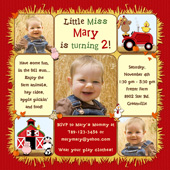 farm themed birthday invitation wording ; Farm-Animals-Red-Border-3-photo-Fall-invitations