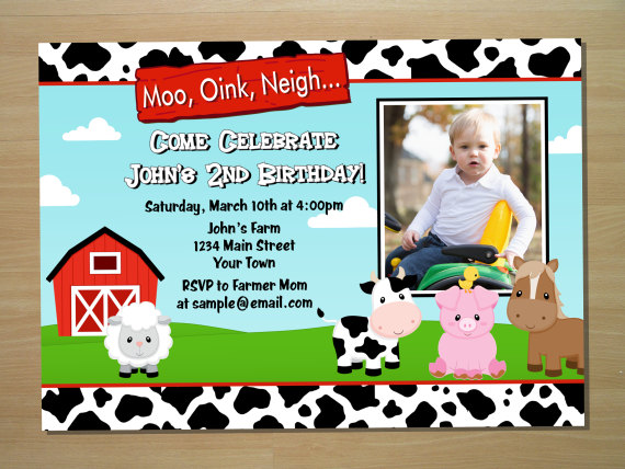 farm themed birthday invitation wording ; barnyard-birthday-invitations-with-interesting-appearance-for-interesting-Birthday-invitation-design-ideas-1