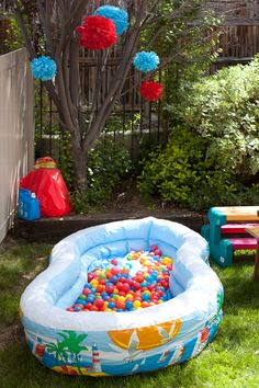 first birthday games activities ; a775f5ef636a153033dffab127b7624d--kiddie-pool-ball-pits