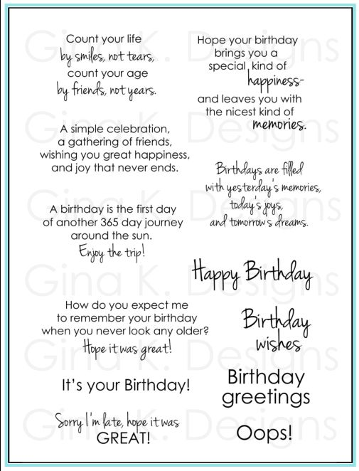 first birthday greeting card messages ; greeting-card-verses-for-birthdays-birthday-greetings-gina-k-designs-nice-change-from-the-usual-template