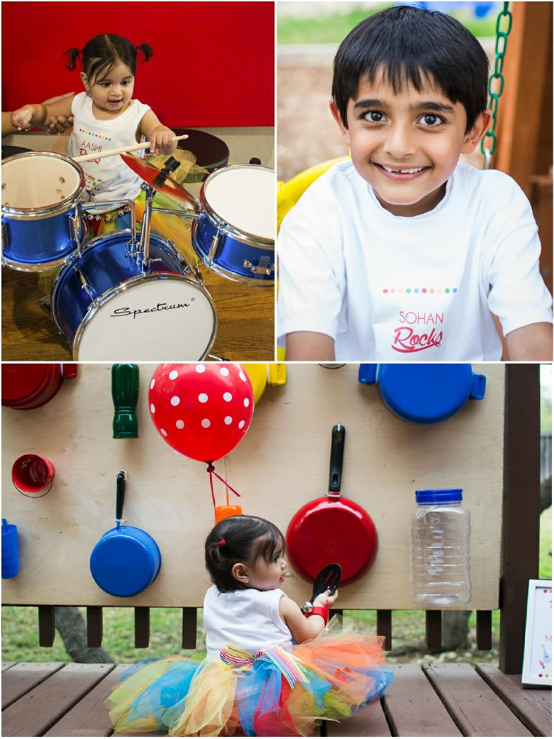 first birthday party activities ; baby-musical-jam-birthday-party-ideas