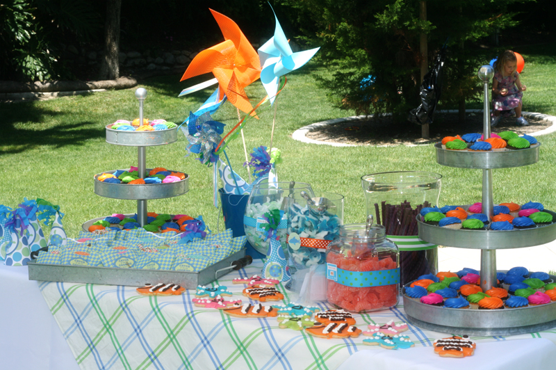 first birthday party activities ; beach-themed-birthday-party-activities