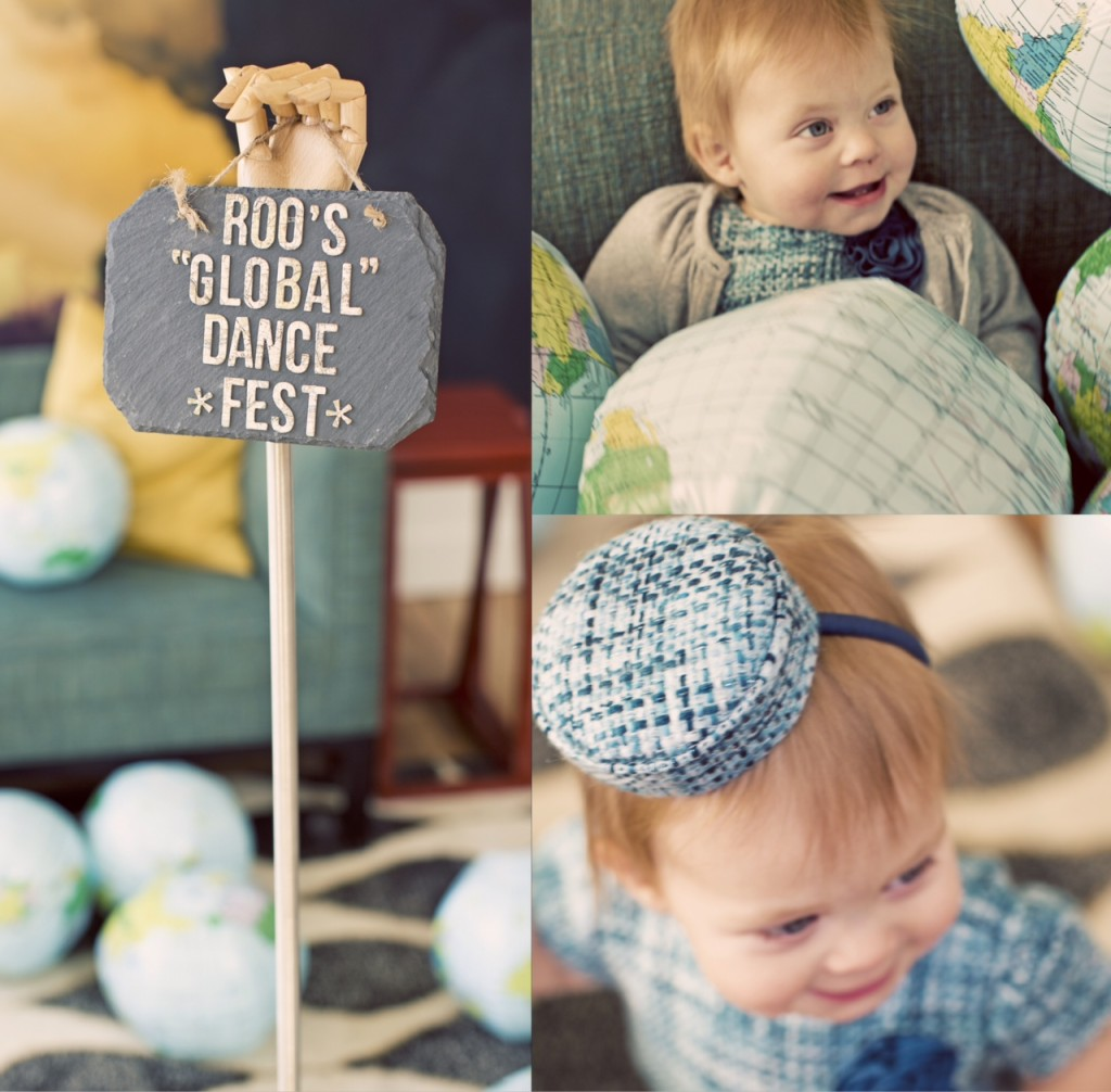 first birthday party activities ; dance-fest