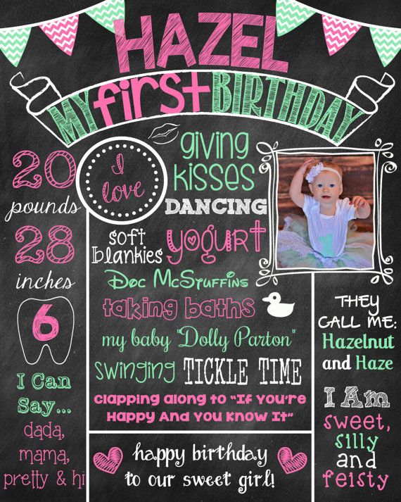 first birthday poster designs ; ce4c10706d3128f16640b0b07fb1b842--first-birthday-posters-pink-first-birthday