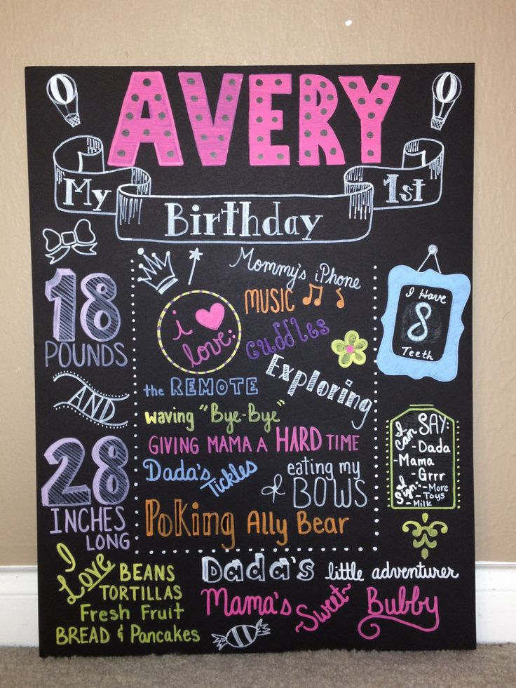 first birthday poster designs ; dde27a366f07a4285676b13dad3d5db1--first-birthday-board-birthday-ideas