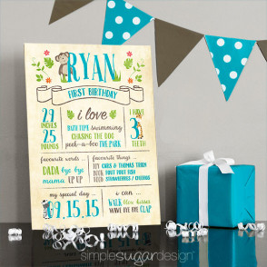 first birthday poster designs ; jungle-Birthday-poster-web-294x294