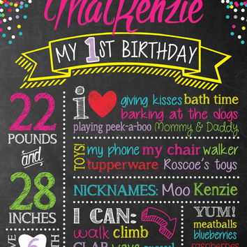 first birthday poster designs ; x354-q80