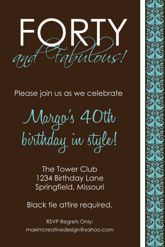 free 40th birthday invitation templates printable ; 211f61380d09ee9238601173a3613ab9