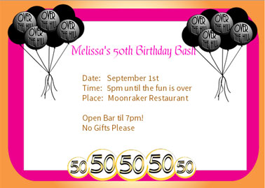 free birthday borders for invitations ; 50th-birthday-border-clipart-13