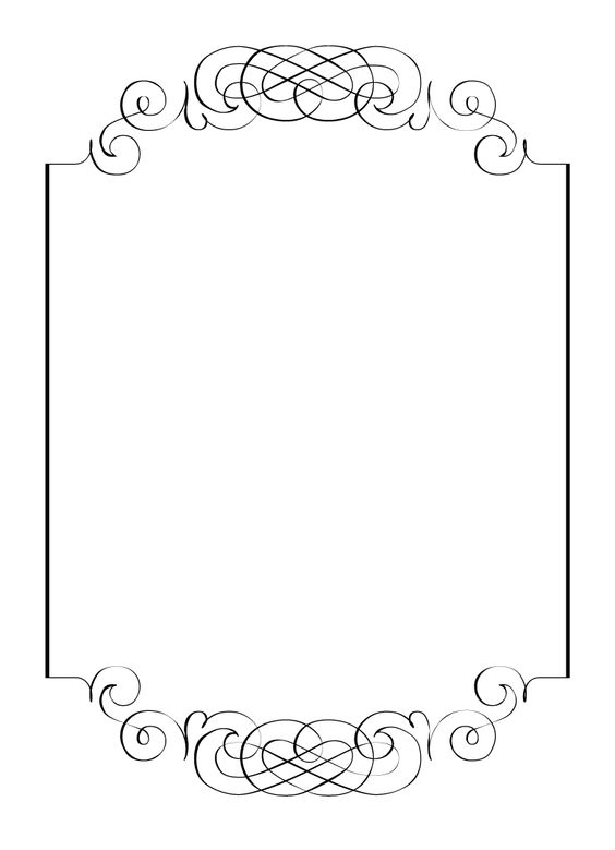 free birthday borders for invitations ; n103098