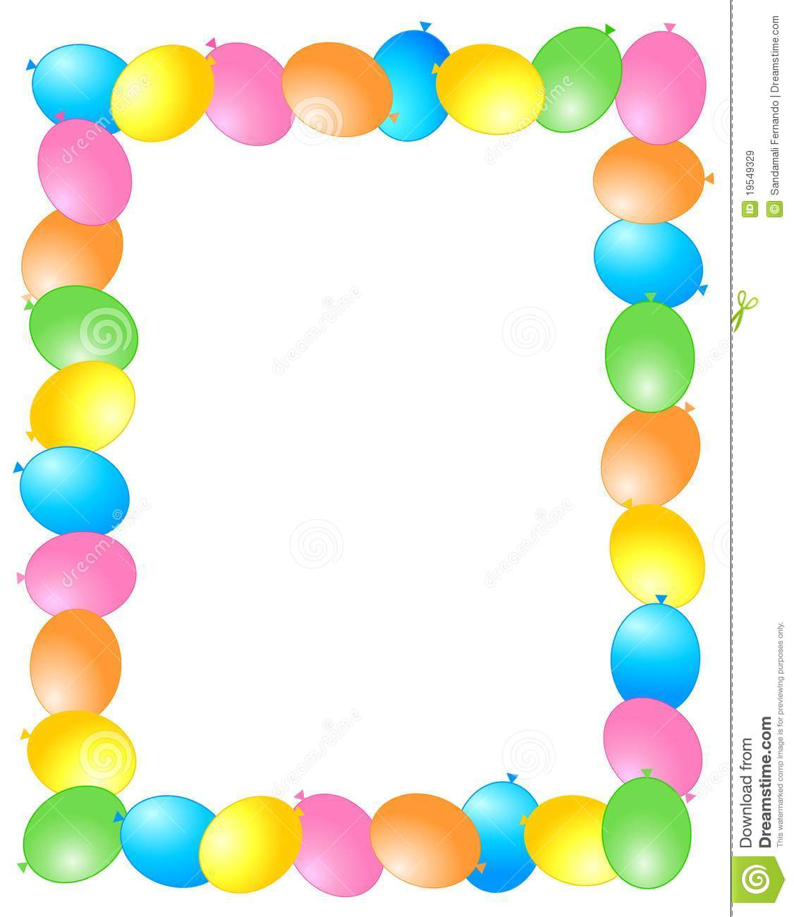 free birthday clipart borders and frames ; happy-birthday-border-clipart-5