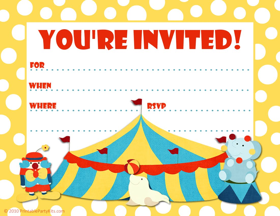 free birthday party invitation clipart ; Charming-Party-Invite-Which-You-Need-To-Make-Free-Printable-Birthday-Party-Invitations