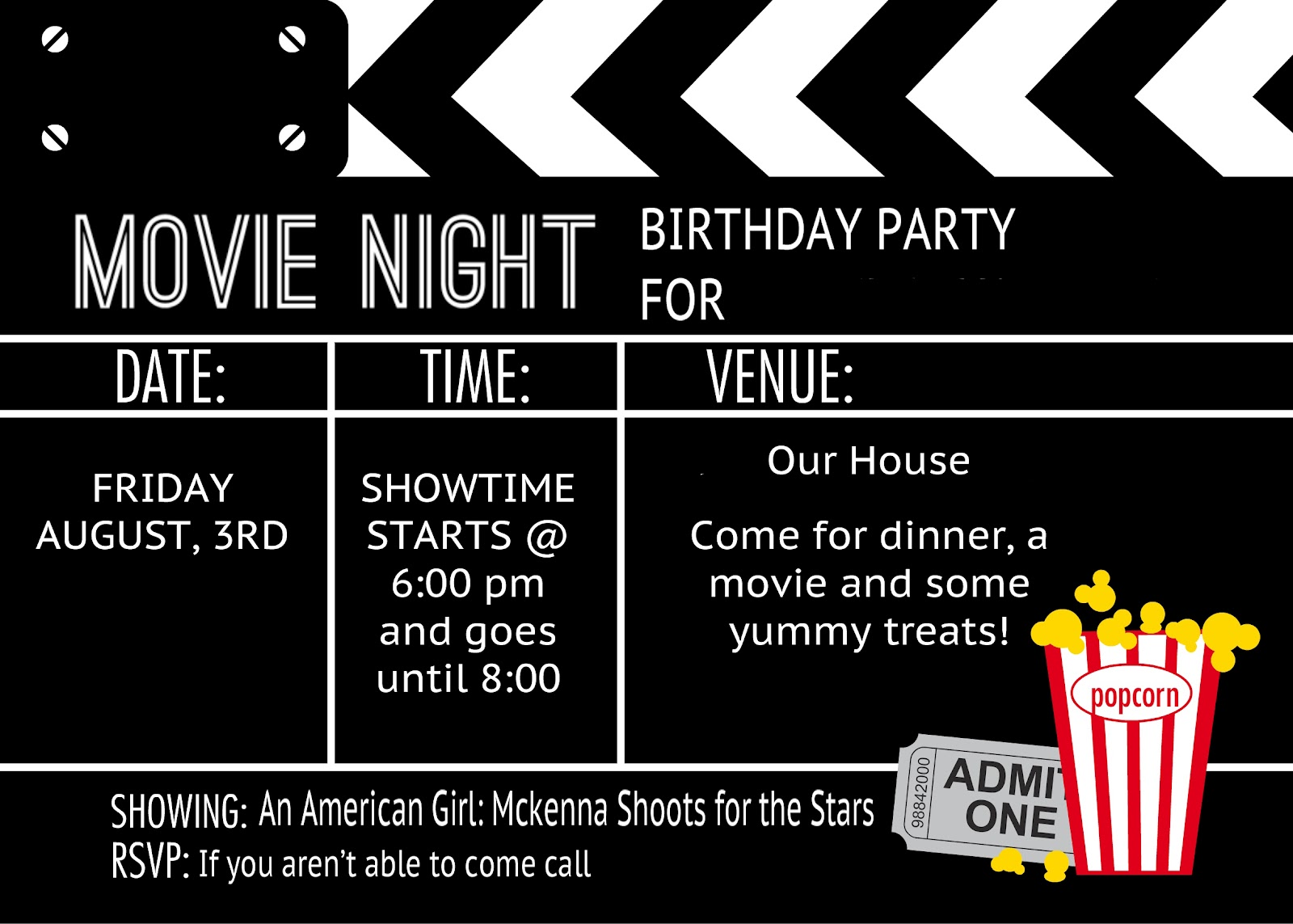 free birthday party invitation templates movie theme ; word_template_tickets__concert_ticket_template_delivery_receipt_0