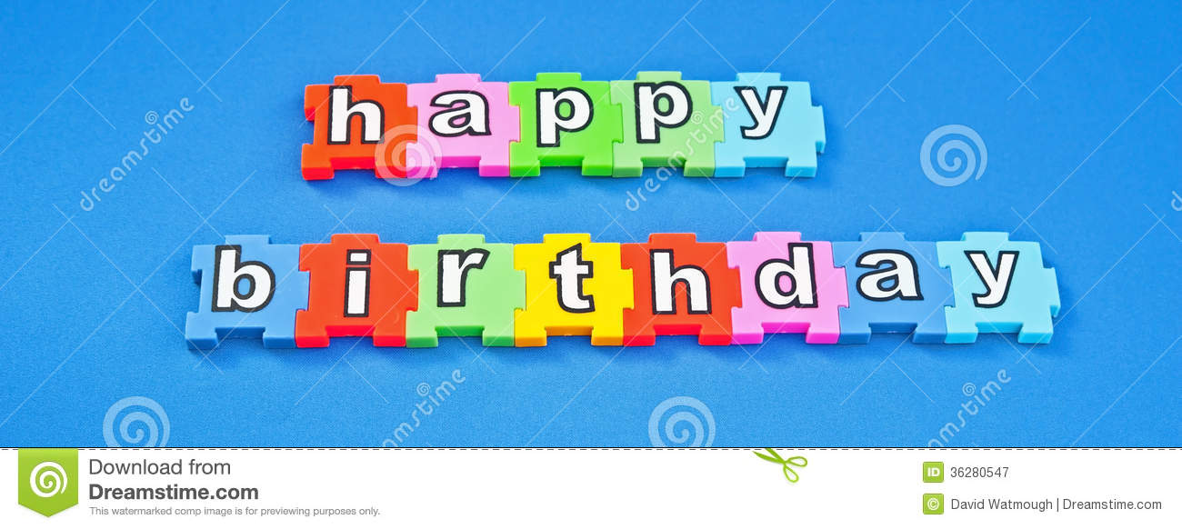 free birthday picture text messages ; happy-birthday-text-message-white-lower-case-letters-colorful-jigsaw-style-pieces-isolated-blue-background-36280547
