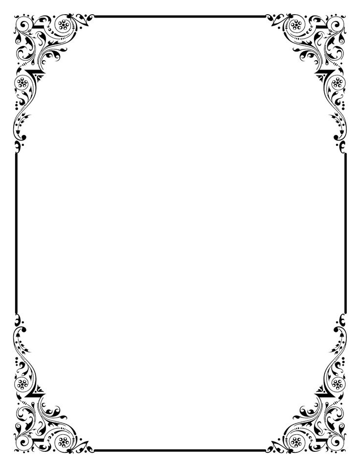 free border designs for birthday invitations ; clip-art-borders-professional-the-25-best-and-frames-ideas-on-pinterest-doodle