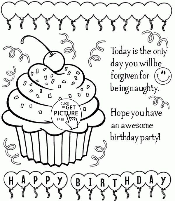free happy birthday coloring sheets ; New-Happy-Birthday-Card-Printable-Coloring-Pages-17-In-Coloring-Pages-Online-Free-with-Happy-Birthday-Card-Printable-Coloring-Pages