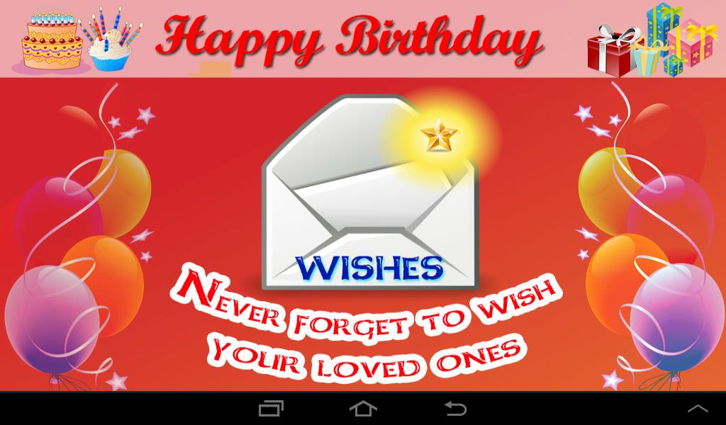 free happy birthday picture text messages ; download1080