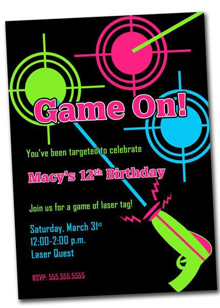 free laser tag birthday invitations ; laser-tag-party-invitations-christmanista-laser-quest-invitations
