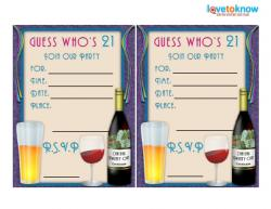 free printable 21st birthday party invitation templates ; 146529-250x193-guess-whos-21