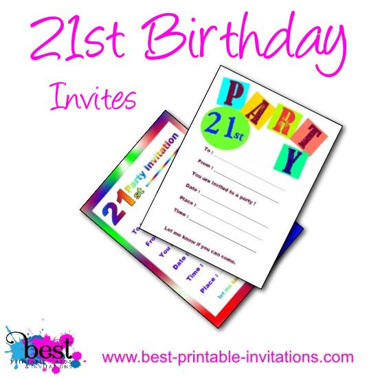 free printable 21st birthday party invitation templates ; 21st-birthday-party-invitations