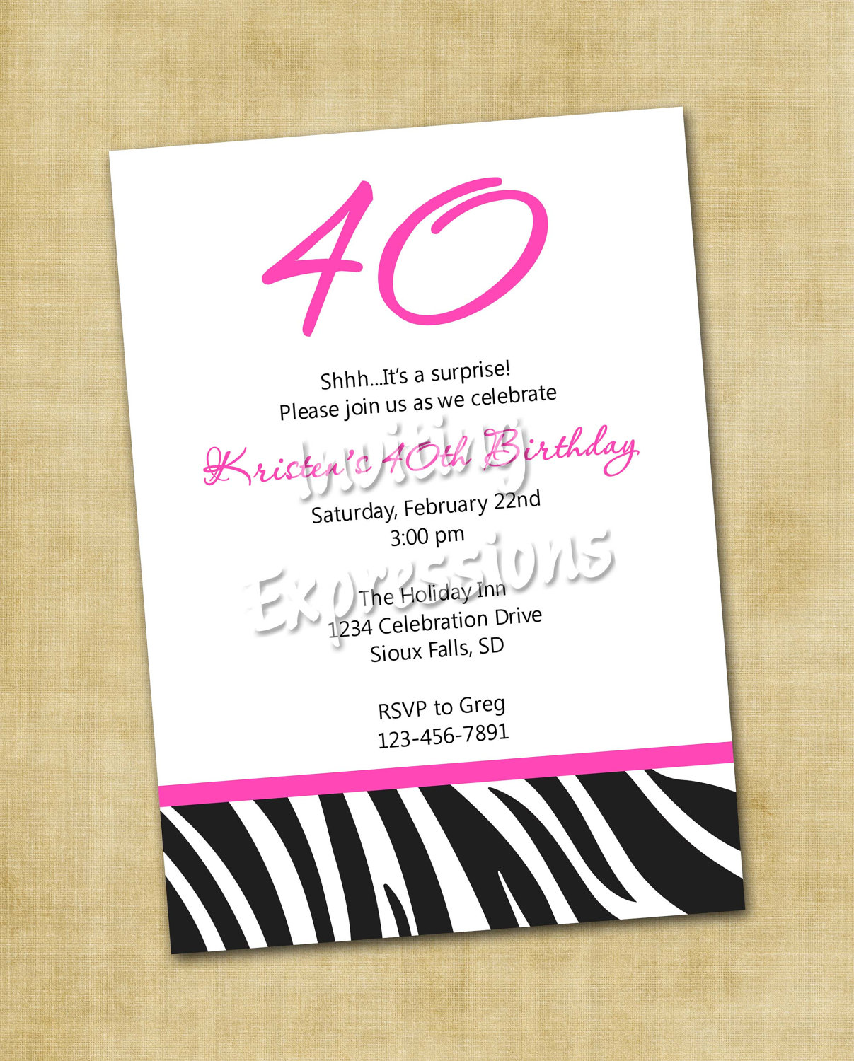 free printable 40th birthday party invitation templates ; Free-Download-Printable-40th-Birthday-Invitations-Templates