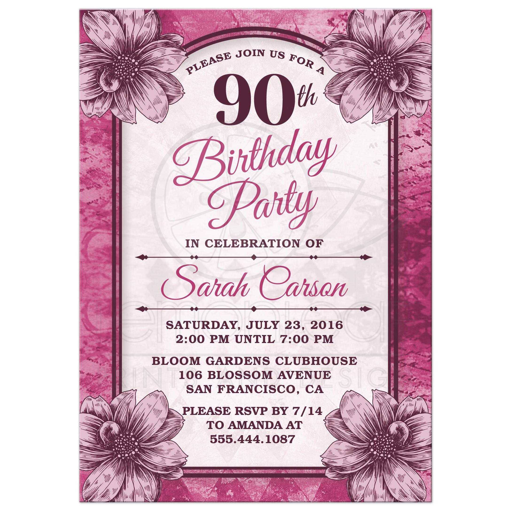 free printable 90th birthday invitation templates ; 7b142fc7c21b58b32f432bbcc9e292cd