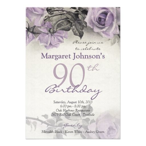 free printable 90th birthday invitation templates ; 90th-birthday-invitation-templates-15-best-90th-birthday-invitation-template-images-on-pinterest-free