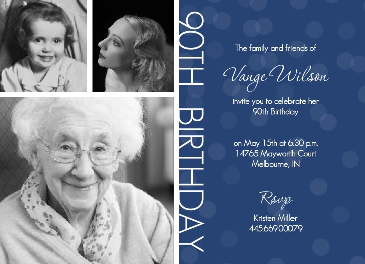free printable 90th birthday invitation templates ; b99115408bedd545003a2a2ba67dec41