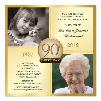 free printable 90th birthday invitation templates ; ed5de79b4e141922acb873cdd5f33cf9