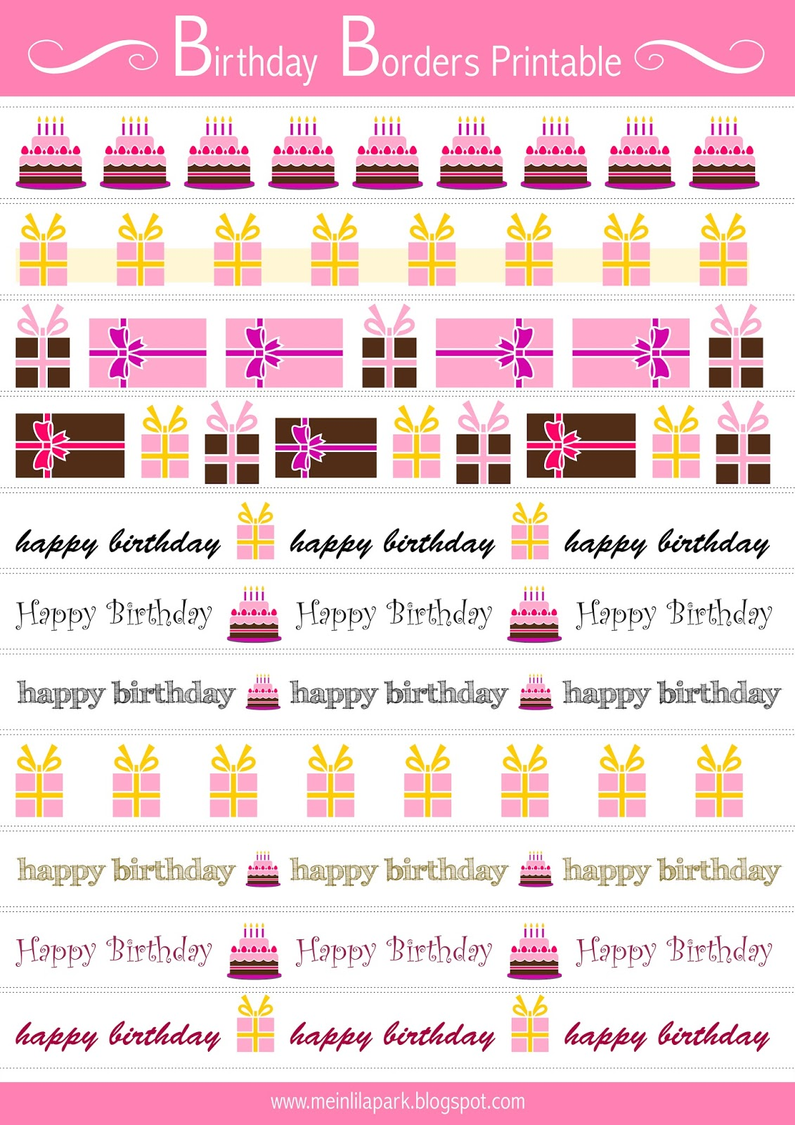 free printable birthday borders ; printable_birthday_borders