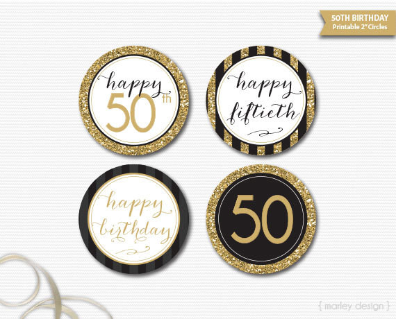 free printable birthday gift tags template ; 50th-Birthday-Gift-Tag