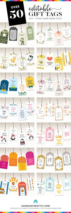 free printable birthday gift tags template ; 5af0799c171b06a22fe56bc569ed732b
