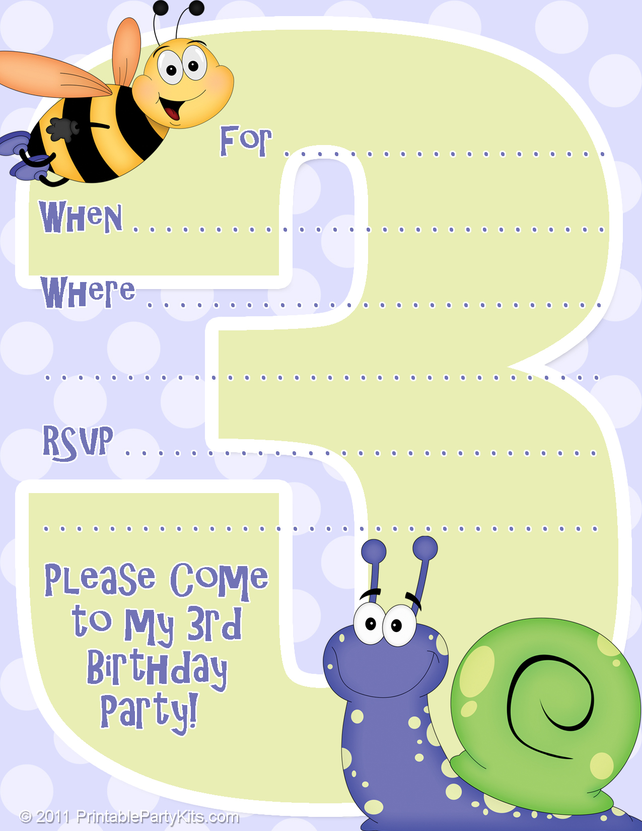 free printable birthday invitation cards for kids ; Free-Printable-Bee-Birthday-Party-Invitations