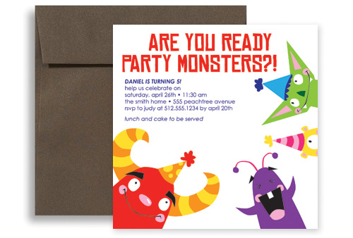 free printable birthday invitation cards for kids ; printable-birthday-invitation-kids-party-monster-lgKID-1102