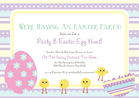 free printable birthday invitation cards templates ; printable-easter-invitations-template