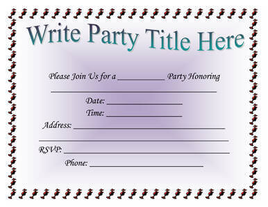 free printable birthday invitation templates for word ; Simple-Party-Invitation-Template