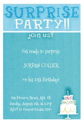 free printable birthday invitation templates for word ; pSurprise-Party!!