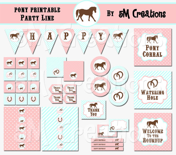 This is a photo of Horse Birthday Invitations Free Printable throughout 10 birthday