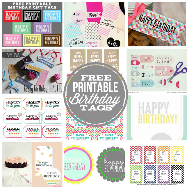 free printable birthday labels ; Free-printable-Happy-Birthday-tags
