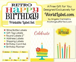 free printable birthday labels ; RetroHappyBirthdayLabels-300x244